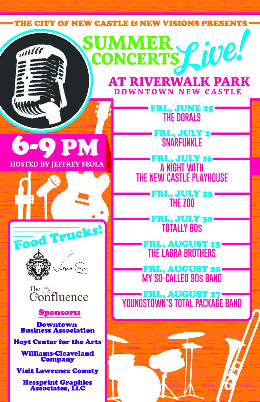 Summer Concerts Live! at Riverwalk Park